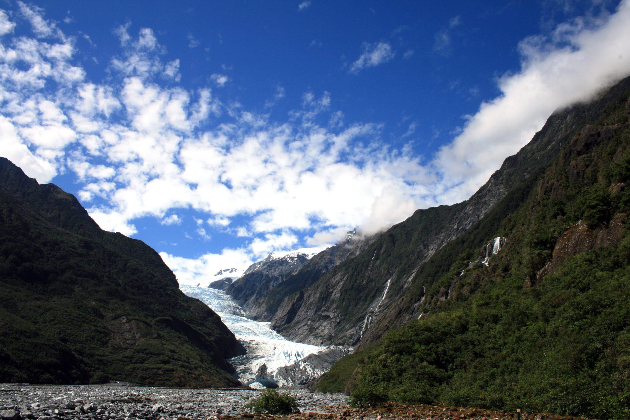 Franz Josef Glacier Weitansicht