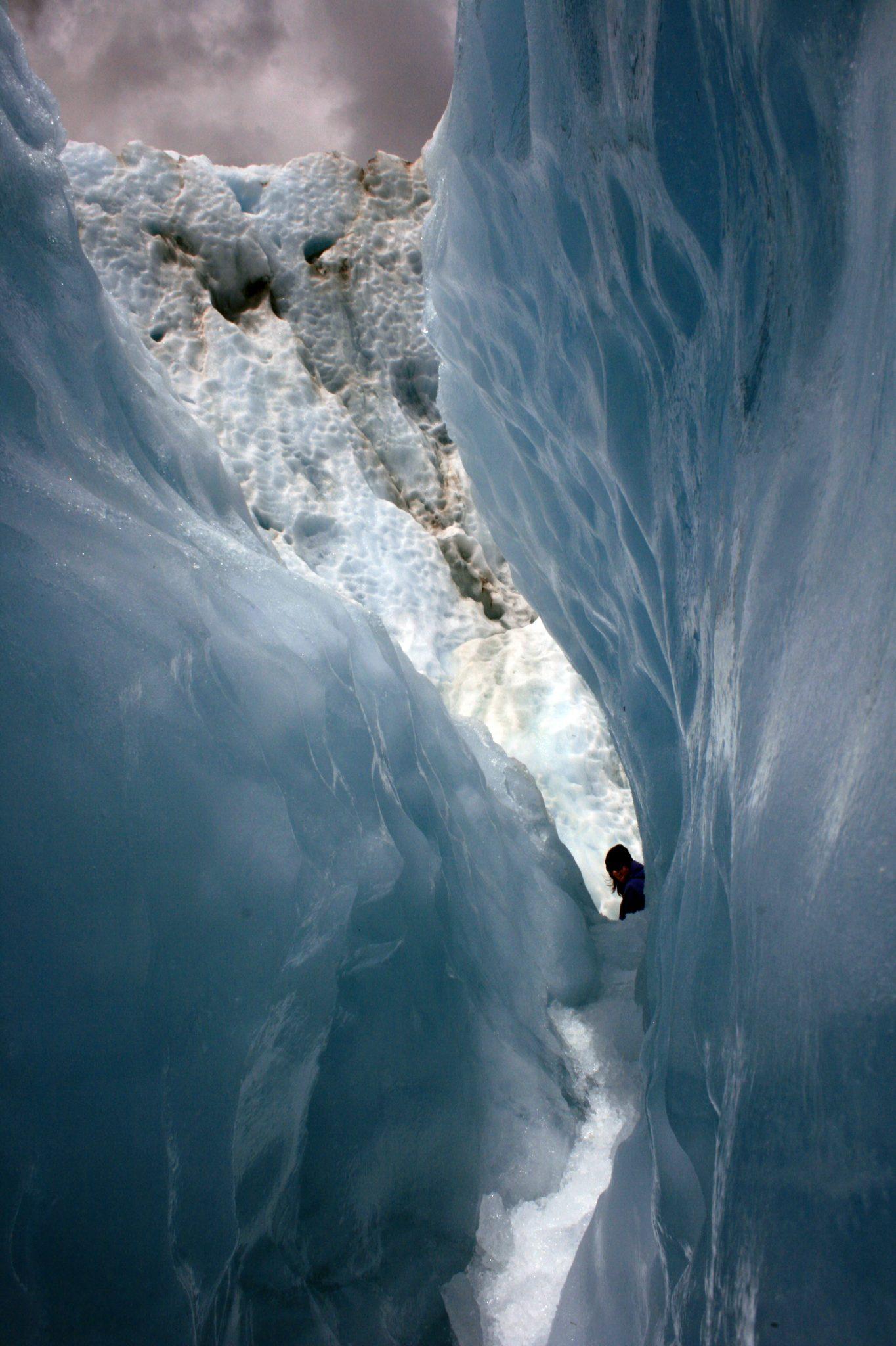 Gletscherdurchgang