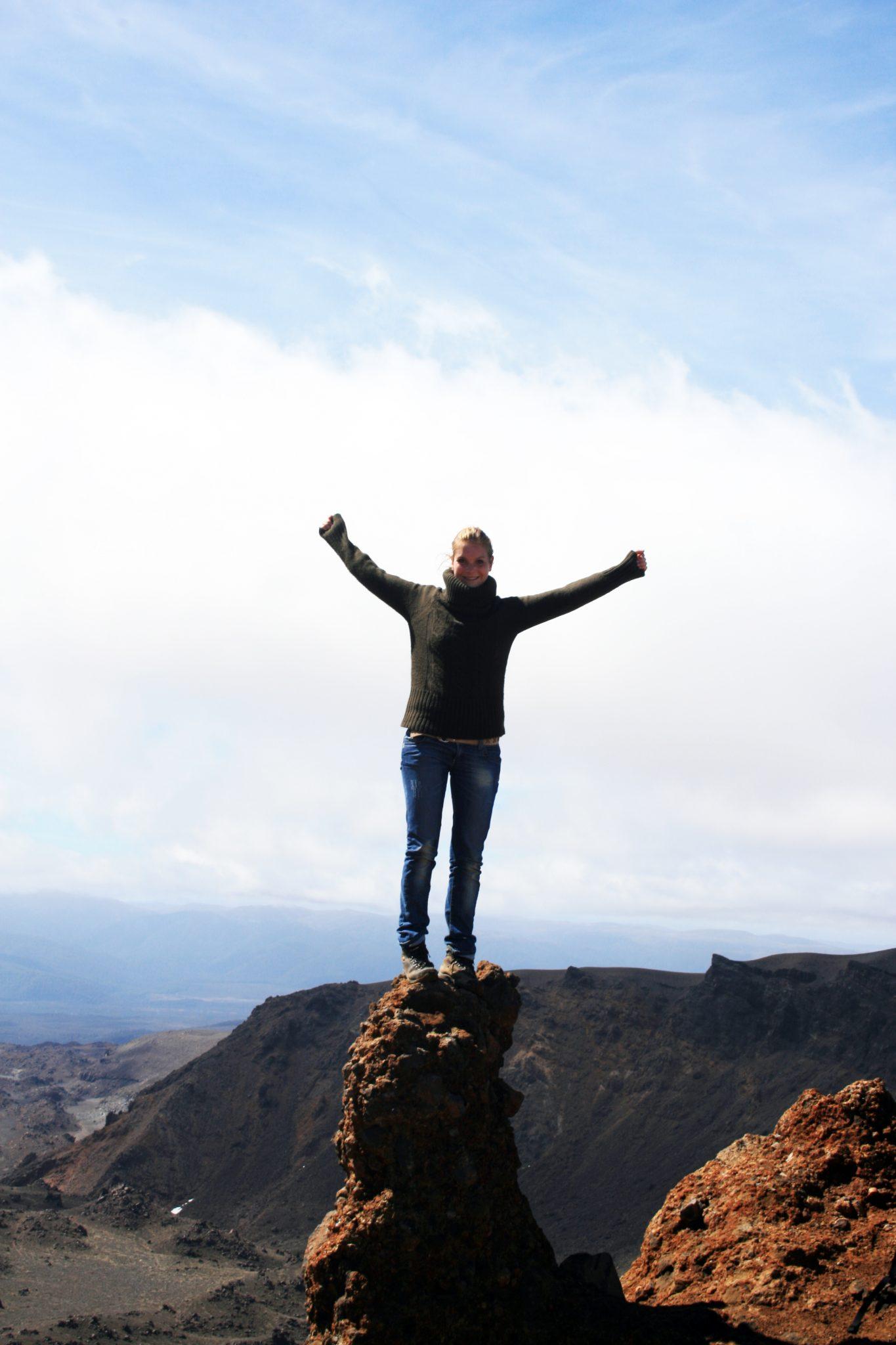 Ich Tongariro Tal