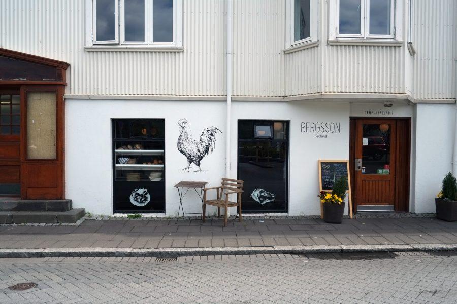 Bergsson Cafe Reykjavik Island