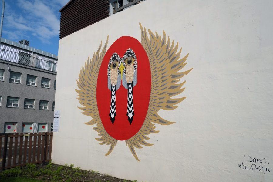 Street Art Island Sara Riel