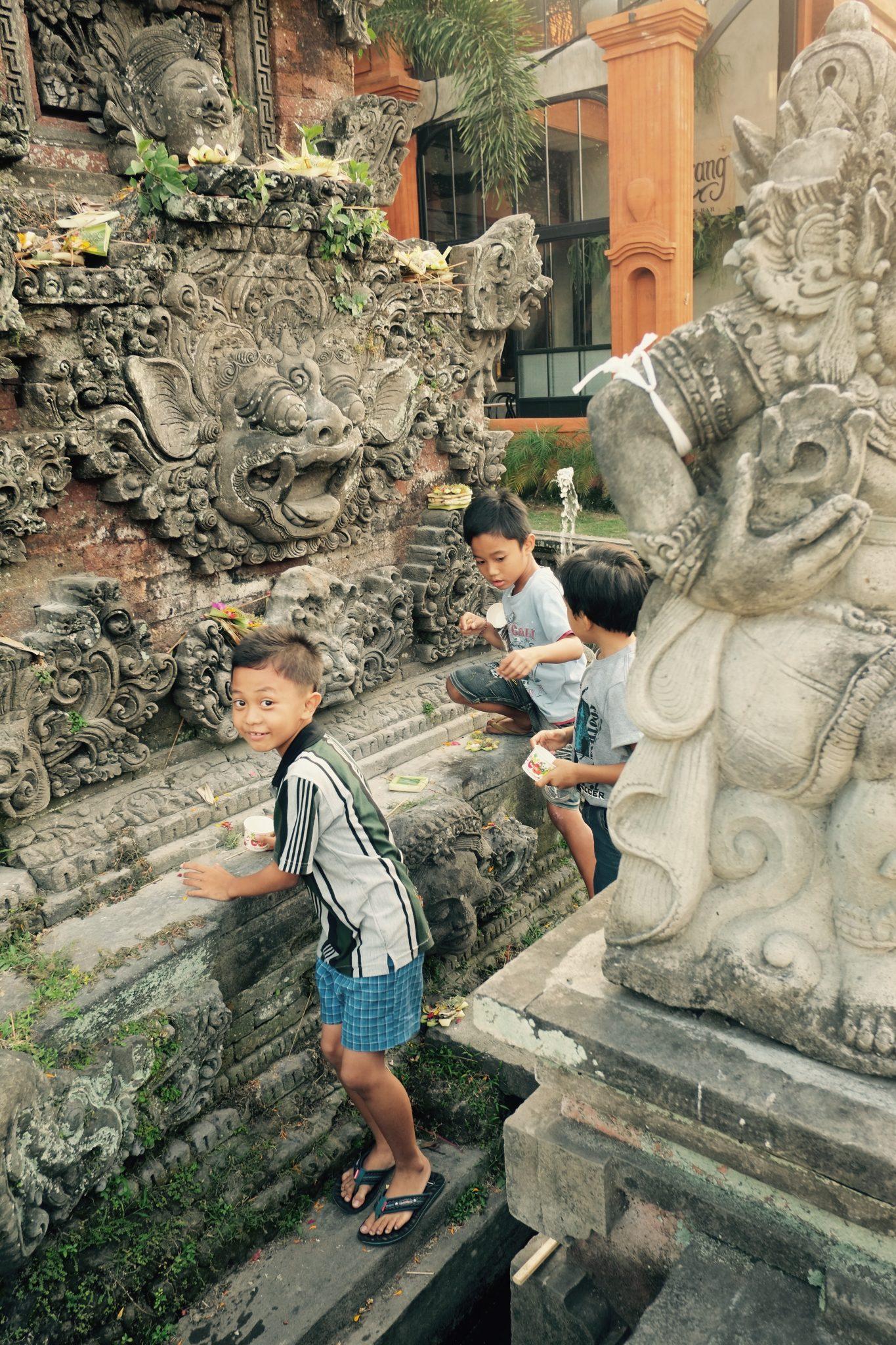 Tempeldiebe Bali