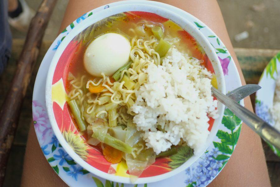 Essen Wanderung Rinjani