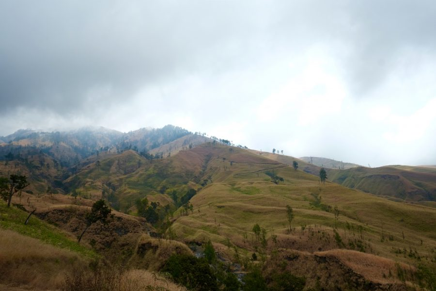 Landschaft Indonesien Lombok