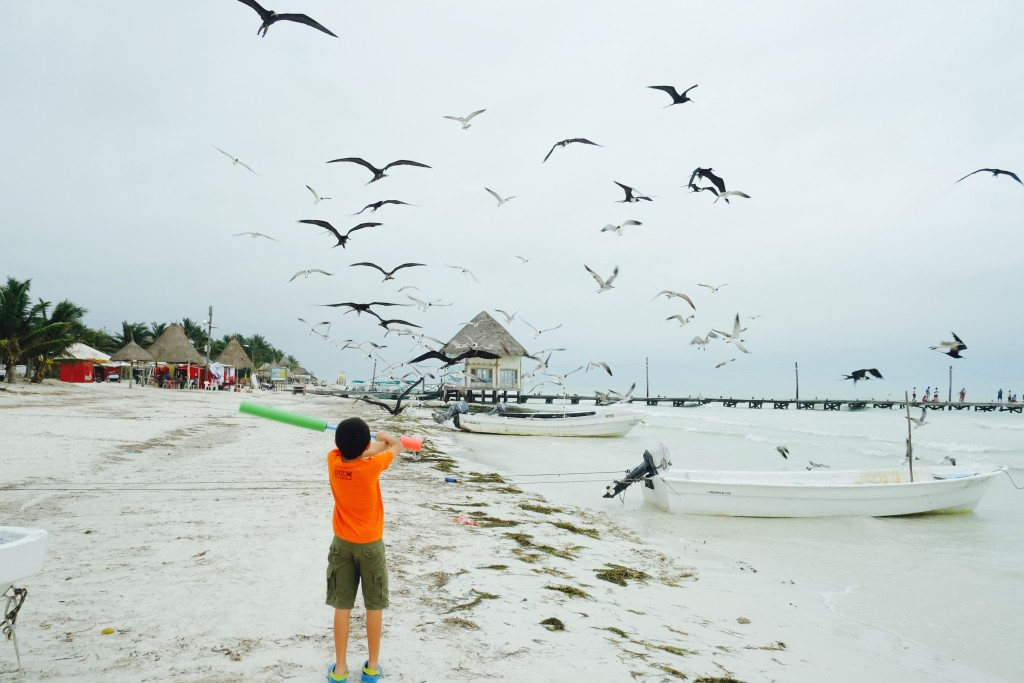Strand Isla Holbox Mexico
