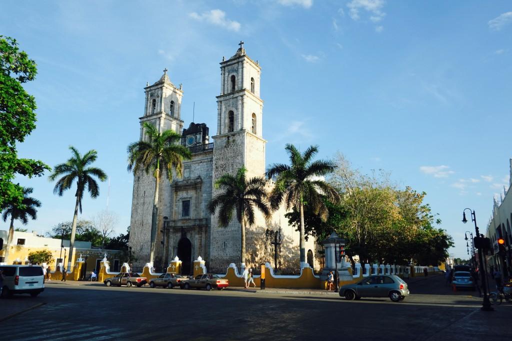 Kathedrale Valladolid Mexico Yucatan