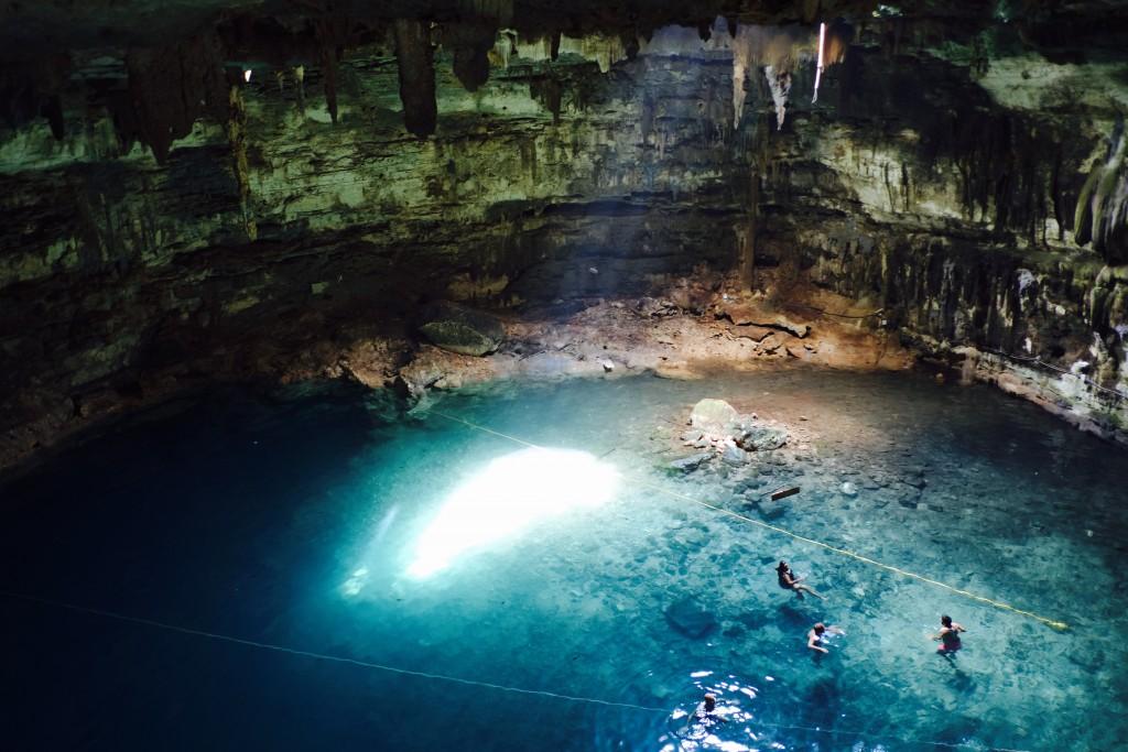 Cenote Samula Yucatan Mexico