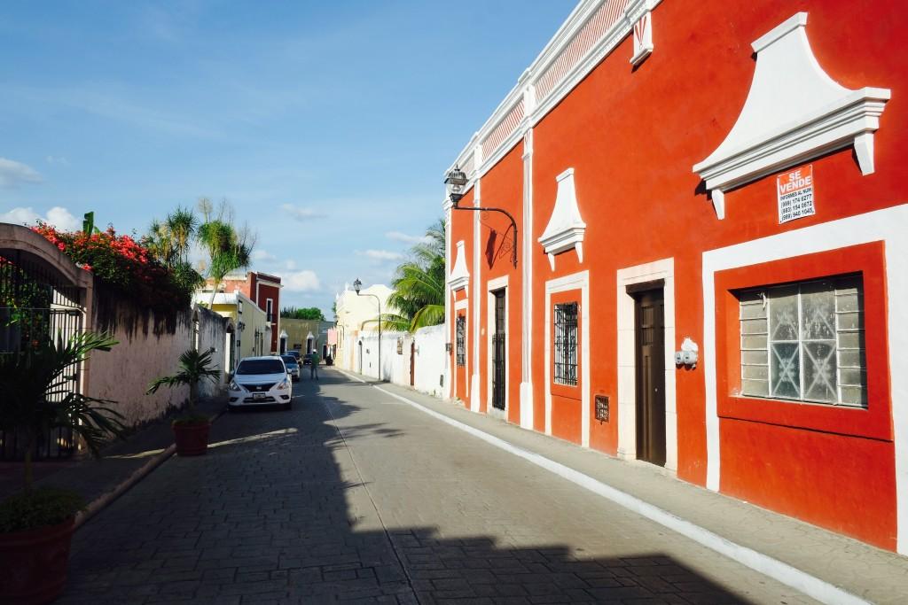 Valladolid Kolionalhäuser