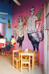 Essen gehen in Merida, Mexico