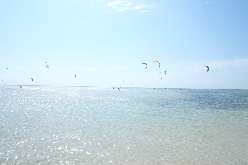 Kitesurfen Isla Blanca