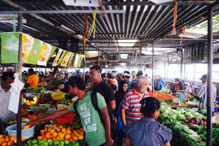 Gemüsemarkt Goodlands Mauritius