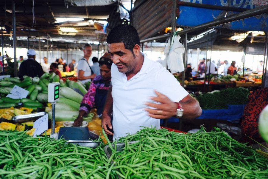 Gemüsemarkt Mauritius