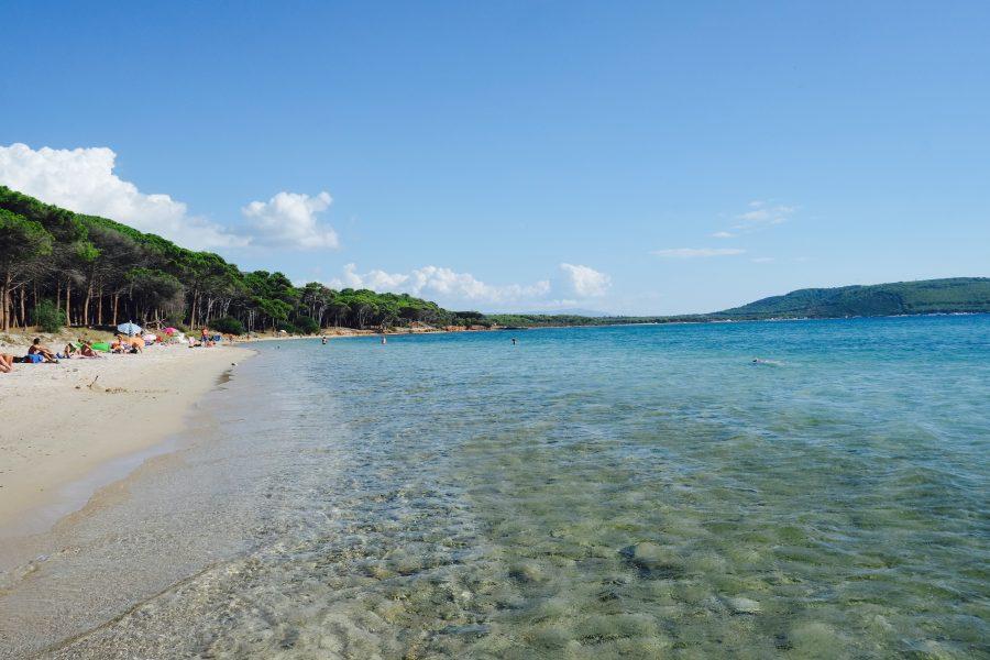Glasklares Wasser Sardinien