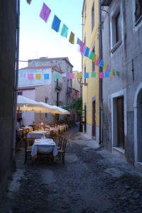 Bosa Sardinien Italien