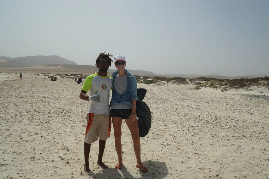 Kite Kriol Beach Clean-Up Boa Vista