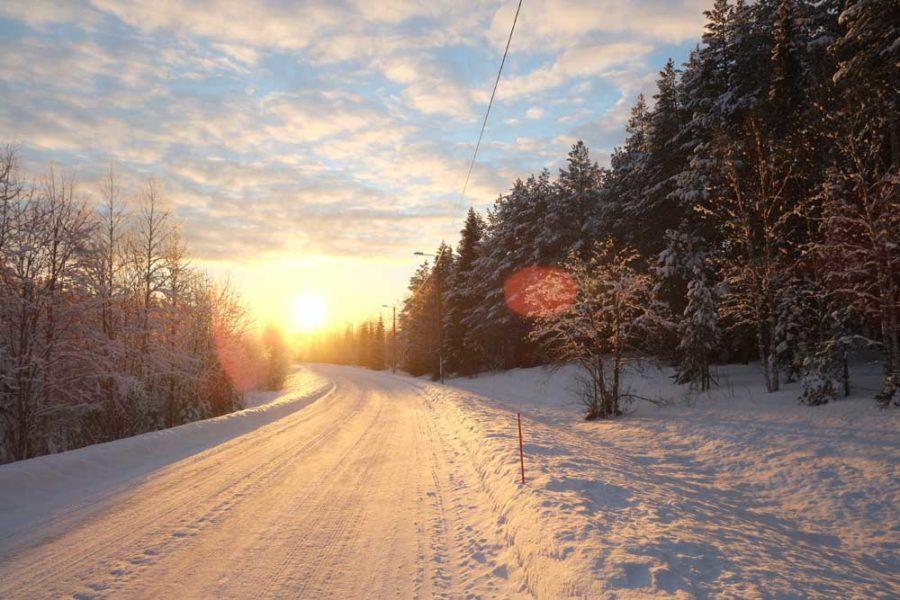 Roadtrip Lappland im Winter