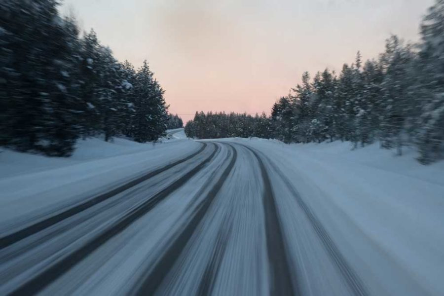 Roadtrip Lappland im Winter