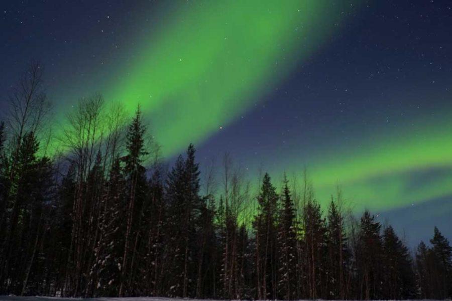 Aurora Borealis Finnland Lappland