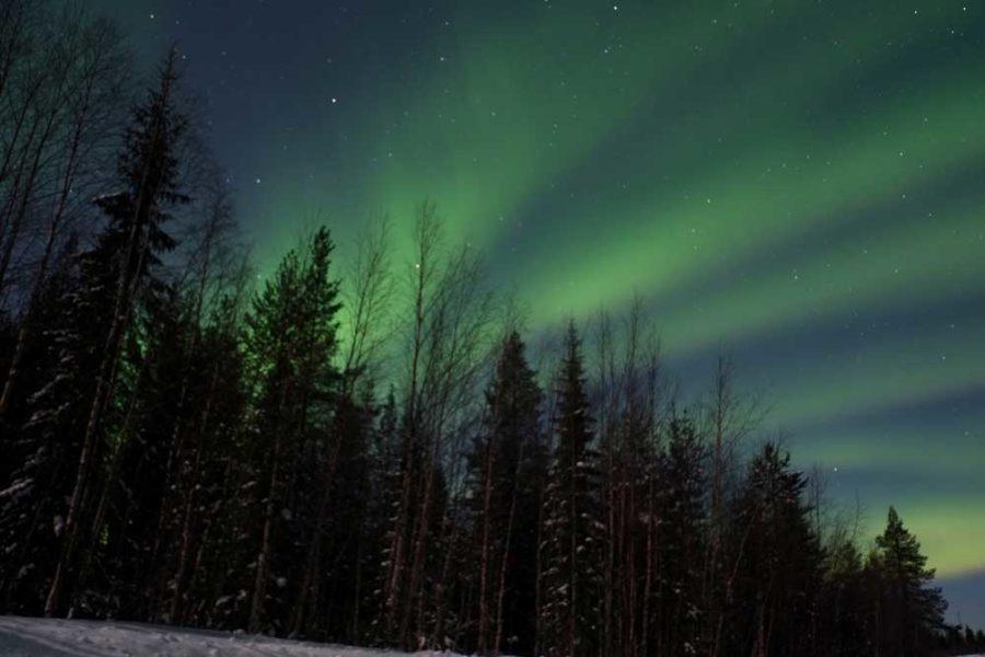 Nordlichter Lappland Finnland