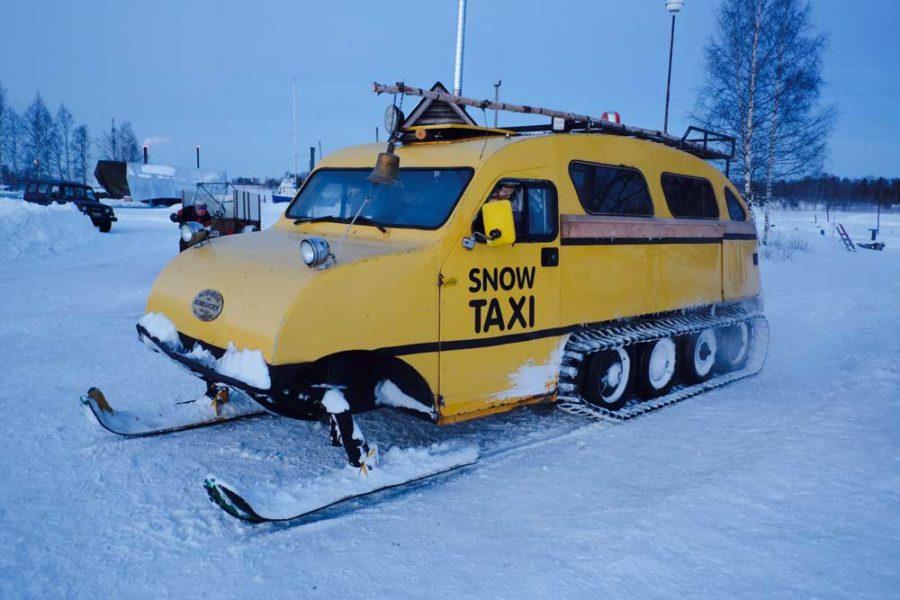 Snowtaxi Finnland