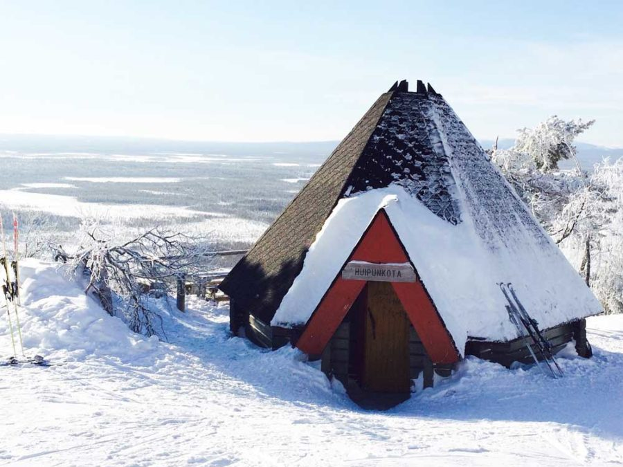 Skihütten Levi Lappland