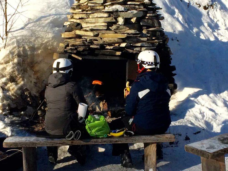 Hütten Lappland Finnland