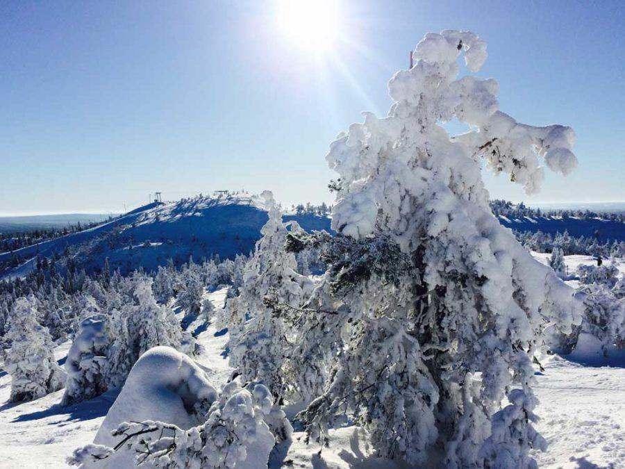 Skigebiete Lappland kurze Pisten
