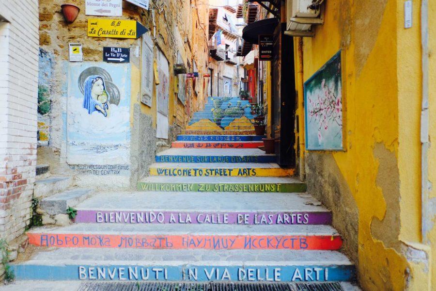 Altstadt Agrigento Sizilien