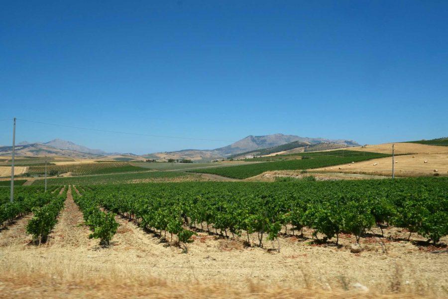 Landschaft Sizilien