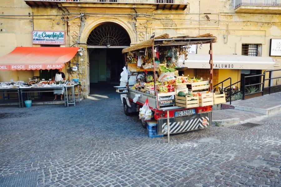 Markt Sizilien
