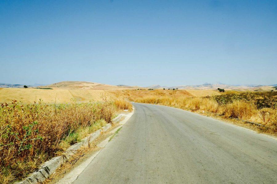 Straßen Sizilien