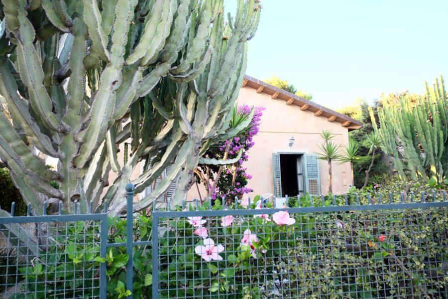 Haus mit Kaktus Sizilien