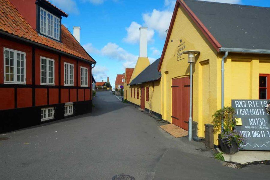 Typische Haeuser Bornholm