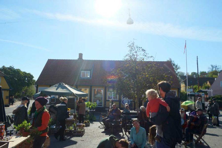 Herbst Markt Svaneke Bornholm