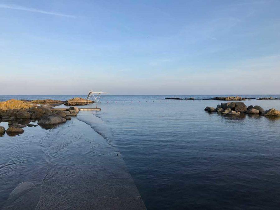 Schwimmen Svaneke Bornholm