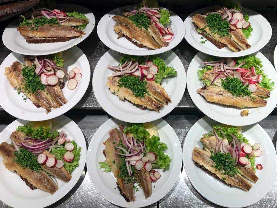 Typisches Essen Bornholm