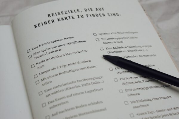 Ein Reisehandbuch von A bis Z ueber das A und O des Reisens